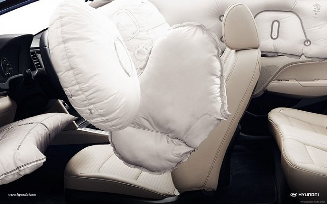Сработали подушки безопасности