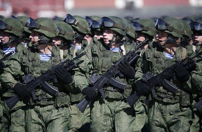 армия рф парад
