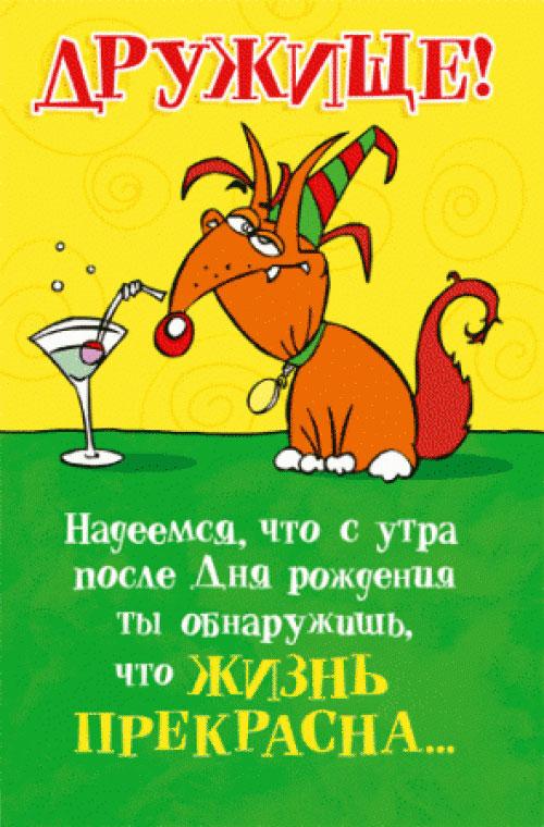Смешные открытки и поздравления