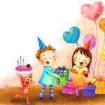 Открытки и картинки с днем рождения девочке