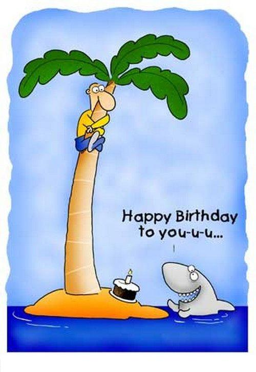 Картинки для поздравления с днем рождения с юмором