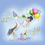 Открытки и картинки с днем рождения мальчику