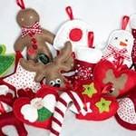 Новогодние игрушки на елку