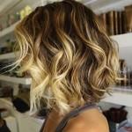 Модный цвет волос в калифорнийское окрашивание