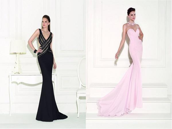 Вечернее длинное платье очень красивое