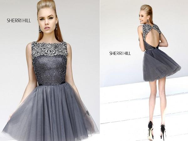 Фото вечерних платьев 2015 короткие