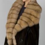 Модные норковые шубы 2015
