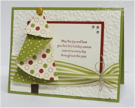 Как оригинально сделать открытку к новому году