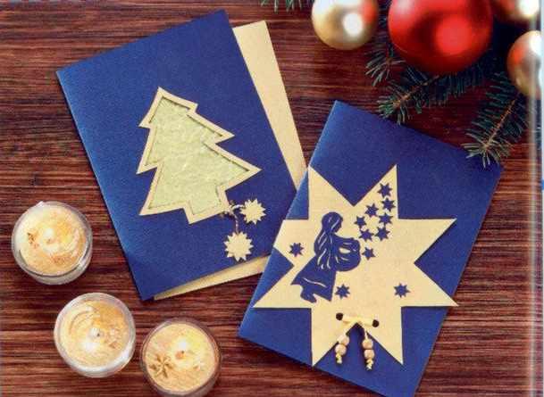 Как сделать открытку к новому году по английскому
