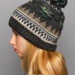 Модные вязаные шапки зима 2015