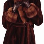 Фасоны и модели норковых шуб зима 2015