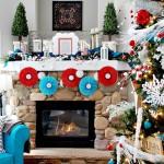 Как украсить квартиру на новый год цветами в интерьере