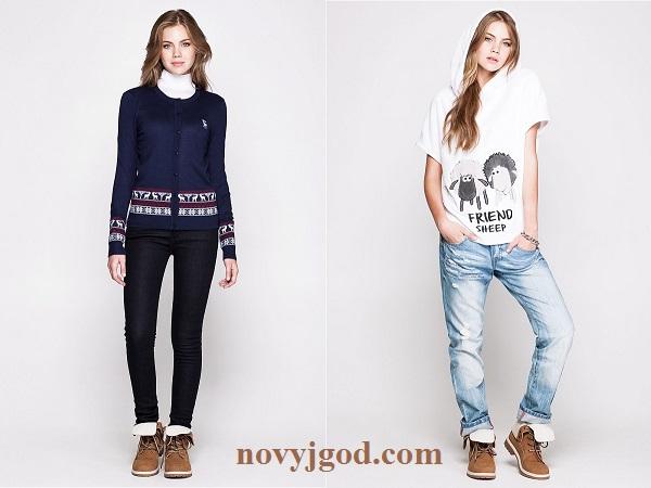 Джинсы мода женские с доставкой