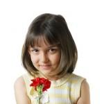 Модные детские прически каре с челкой фото