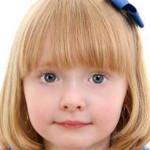 Модные детские прически каре с челкой
