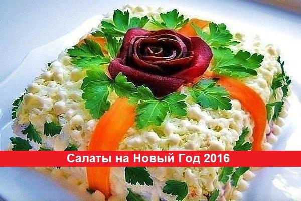 салат на новый год 2016 с фото простые