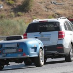 Chevrolet Captiva 2016 первые фото 6 в камуфляже