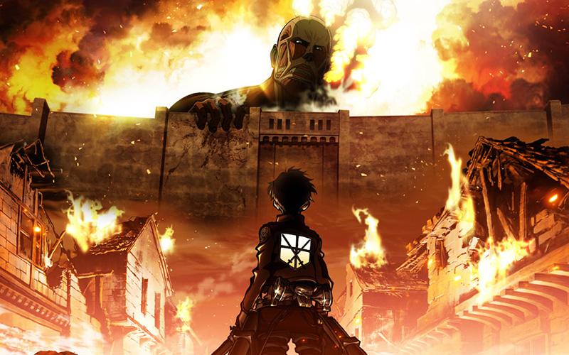Аниме Атака Титанов 2 сезон