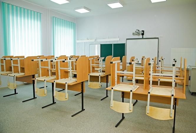 Пустое помещение в учебном классе