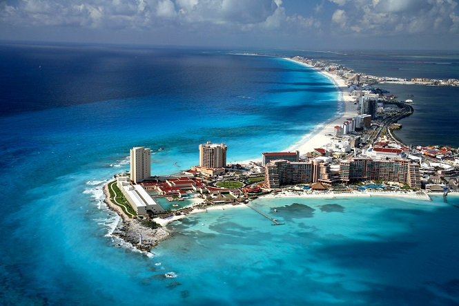 Канкун - город на юго-востоке Мексики
