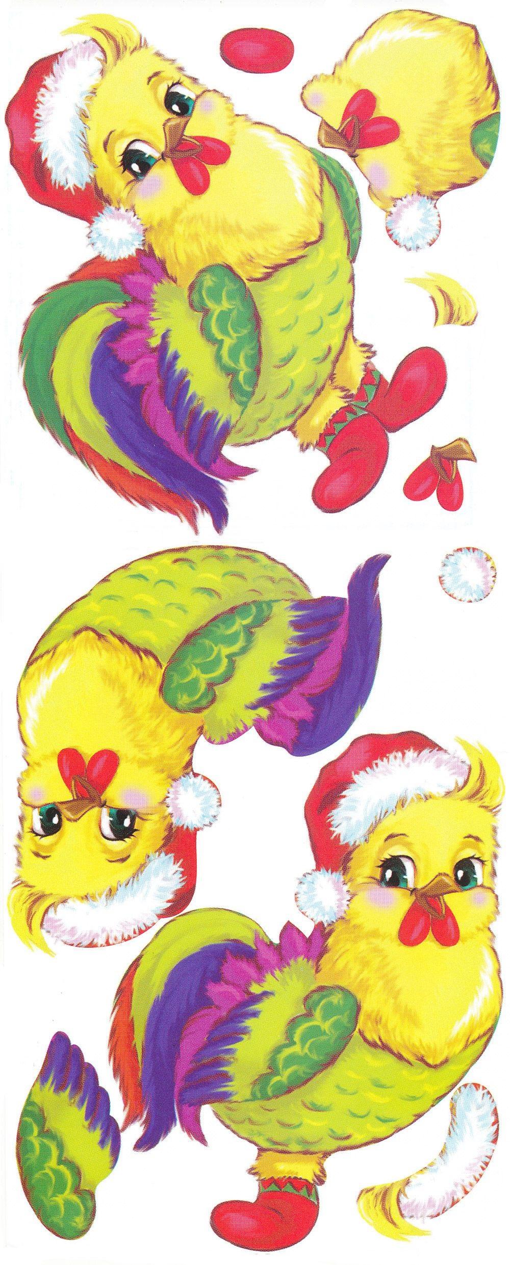 петух символ 2017 года своими руками - открытка петушок