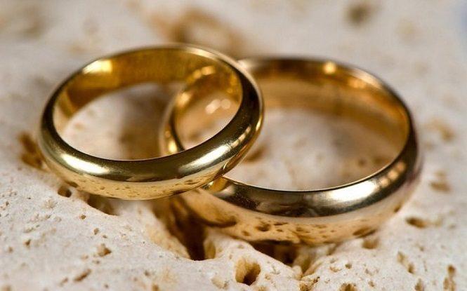 Золотые обручальные кольца большого диаметра