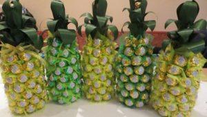 Поделка из конфет своими руками ананас - Restovoz.ru