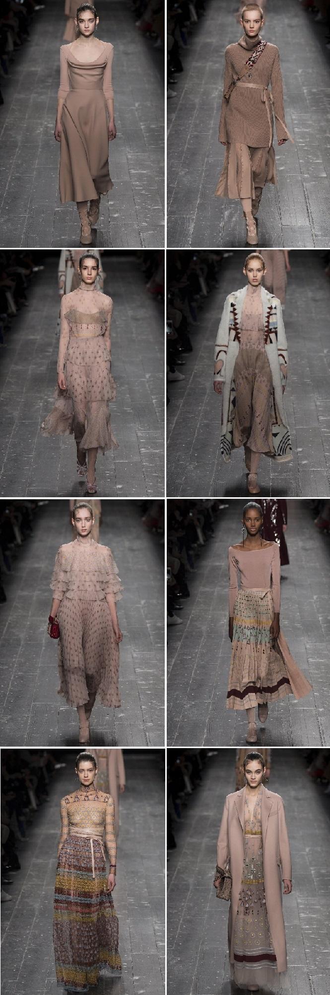 Коллекция показа мод в милане