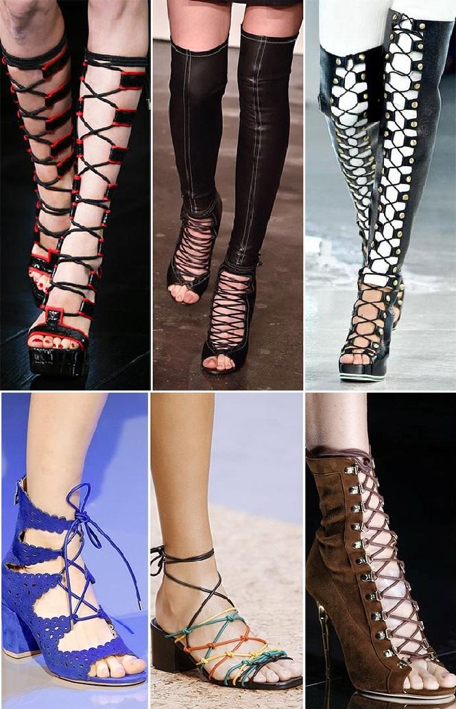 Высокие шнурки