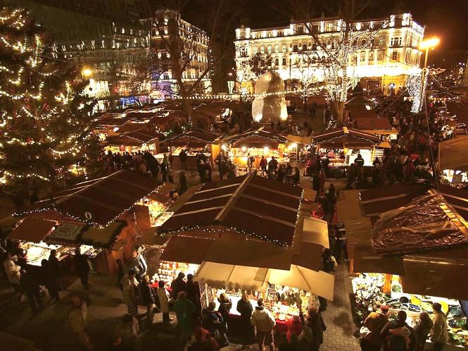 Венгерская рождественская ярмарка