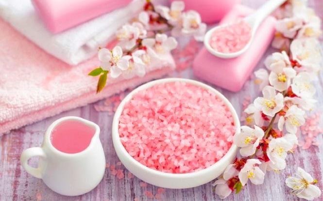 Розовая морская соль