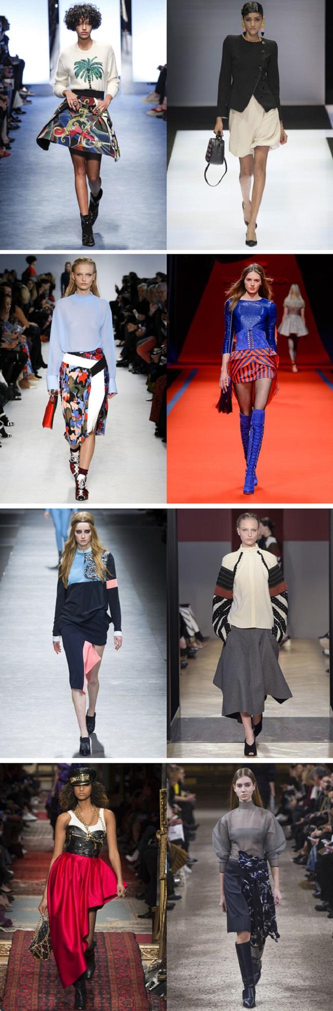 Мода На Юбки 2017