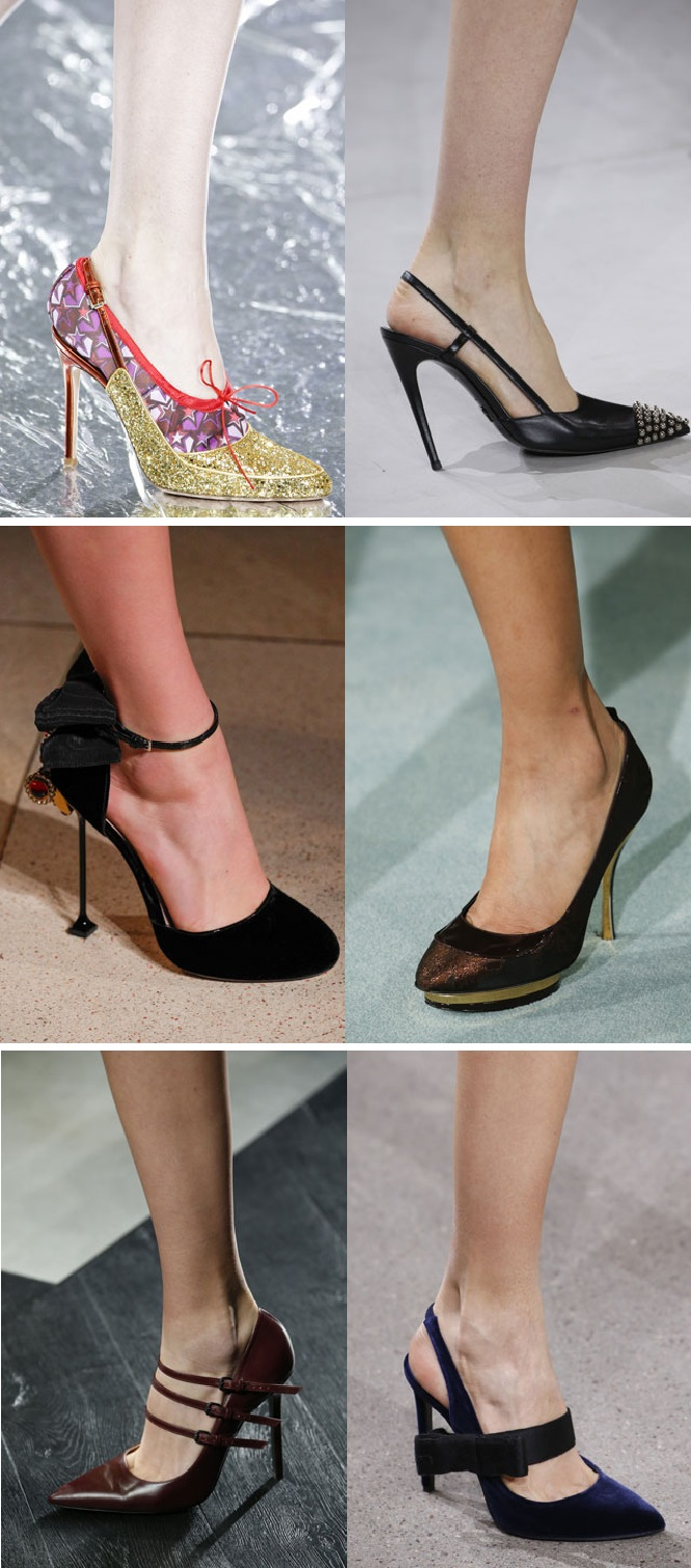Шипы на носке