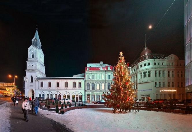 Прогулка по ночной Румынии