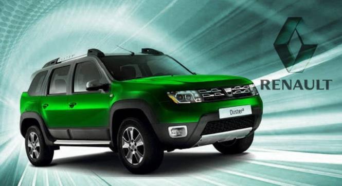 Темно зеленая окраска автомобиля