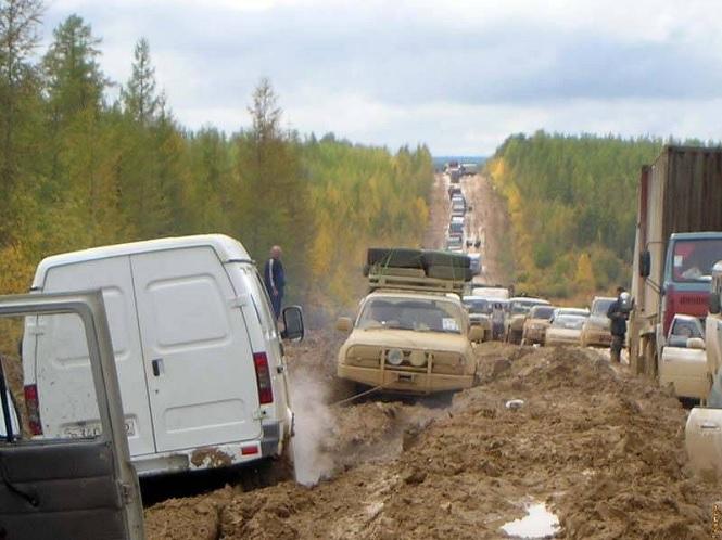 Бездорожье по русски