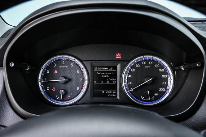 Показатели скорости автомобиля