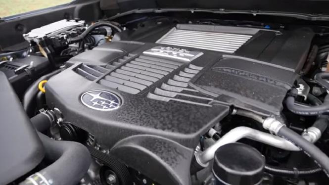 Новый двигатель не прошедший обкатку