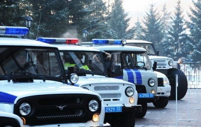 Старый полицейский транспорт