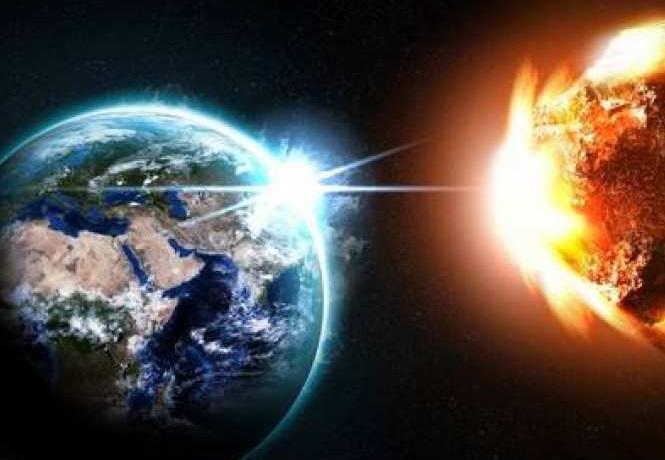 Приближение небесного тела к земле