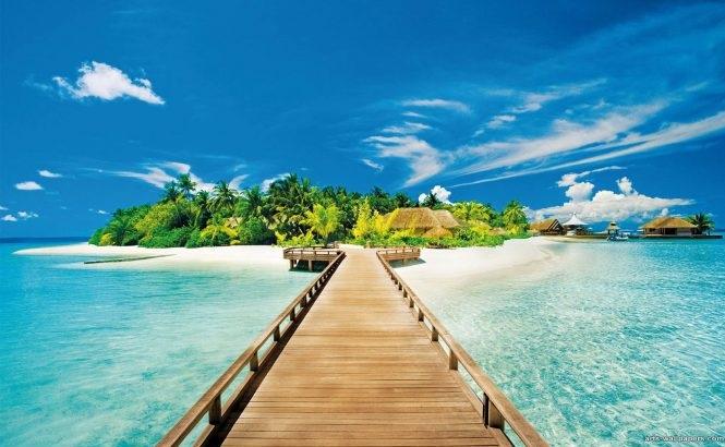 Архипелаг островов с песчаными пляжами