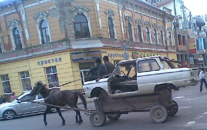Перевозка лошадью