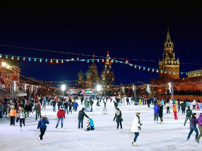 Центральный московский ледяной каток