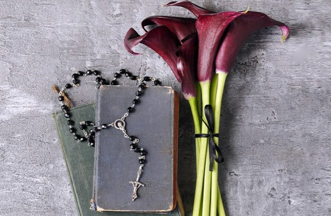 Черные лилии