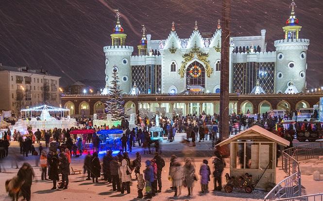 Ледовой казанский дворец