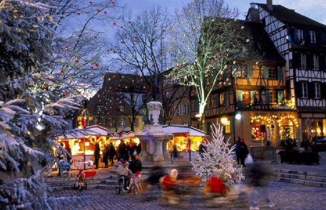 Новогоднее настроение Чехии
