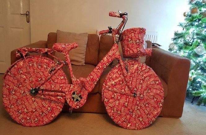 Оригинальная упаковка новогоднего подарка мужу