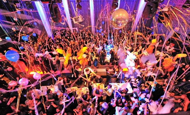 Отпадная новогодняя клубная вечеринка