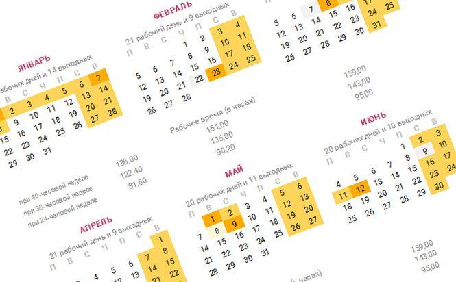 Скачать рабочий производственный календарь на 2015