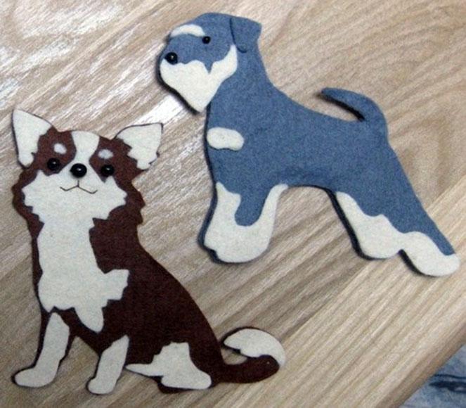 магниты в виде собак